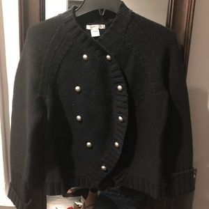 Design History Size L Black Lambswool Sweater